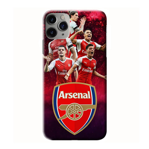 ARSENAL FC LOGO iPhone 6/6S 7 8 Plus X/XS XR 11 Pro Max 3D Case - Cool Custom Cover Personalized Design