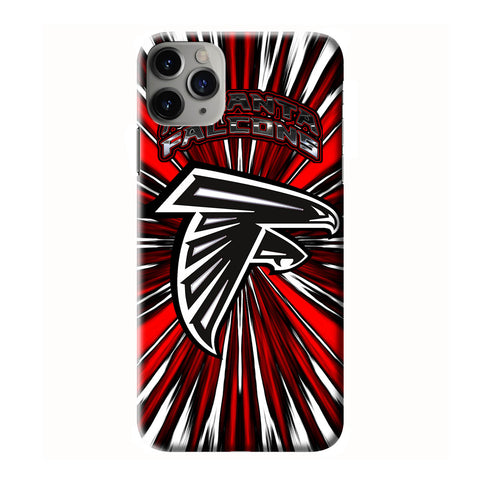 ATLANTA FALCONS iPhone 6/6S 7 8 Plus X/XS XR 11 Pro Max 3D Case - Cool Custom Cover Personalized Design