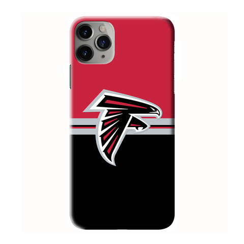 ATLANTA FALCONS LOGO iPhone 6/6S 7 8 Plus X/XS XR 11 Pro Max 3D Case - Cool Custom Cover Personalized Design