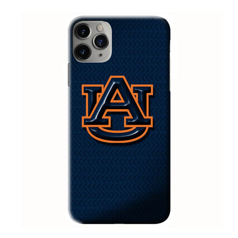 AUBURN TIGERS FOOTBALL ICON iPhone 6/6S 7 8 Plus X/XS XR 11 Pro Max 3D Case - Cool Custom Cover Personalized Design