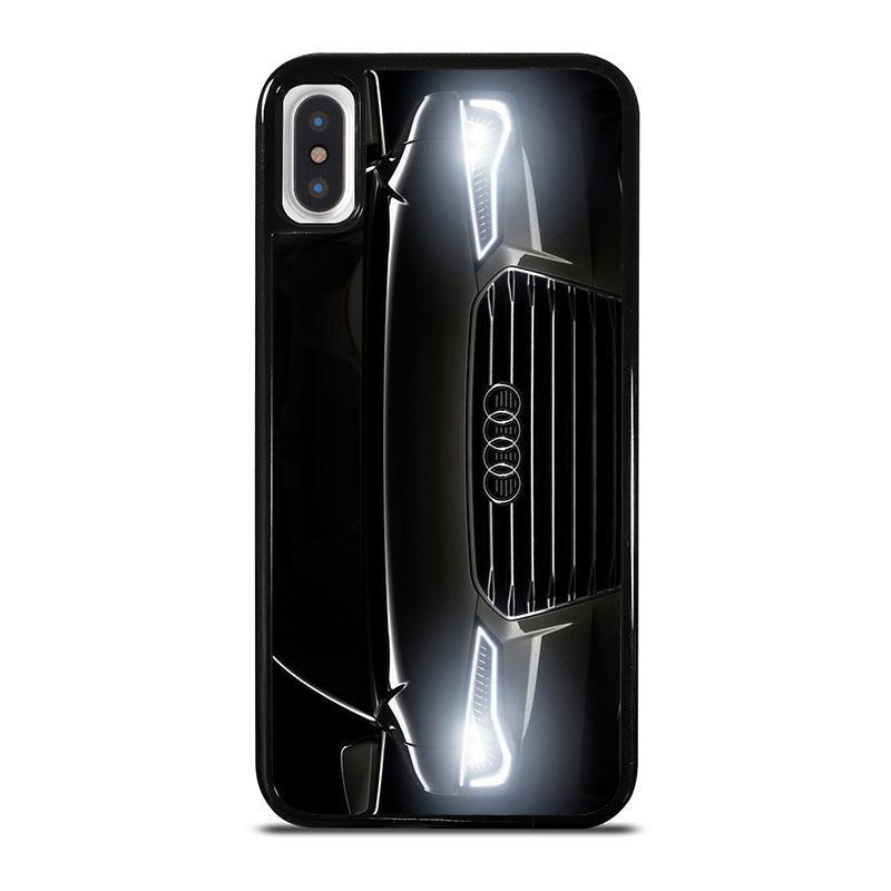 huge selection of 949ab 98146 AUDI BLACK FRONT iPhone X / XS Case Cover - Favocase