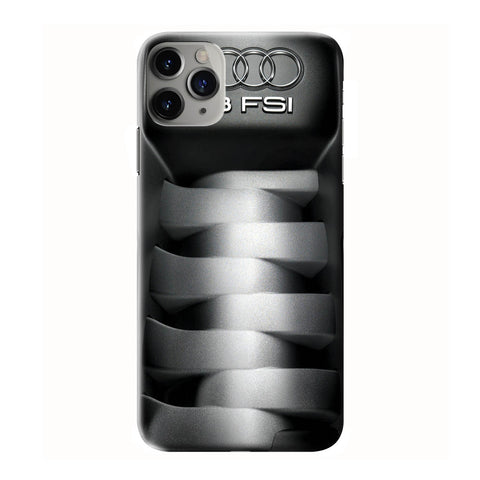 AUDI V8 FSI ENGINE iPhone 6/6S 7 8 Plus X/XS XR 11 Pro Max 3D Case - Cool Custom Cover Personalized Design