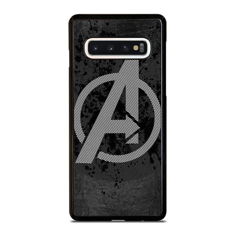 AVENGERS LOGO GRAY-samsung-galaxy-s10-case-cover