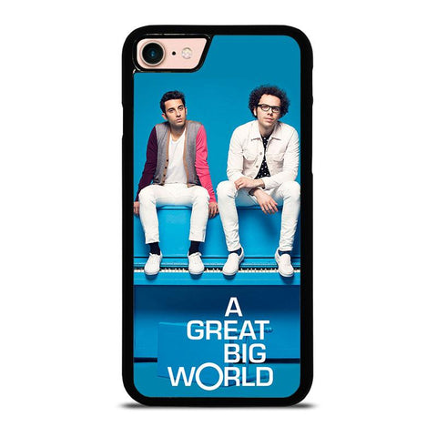 A-GREAT-BIG-WORLD-iphone-8-case-cover