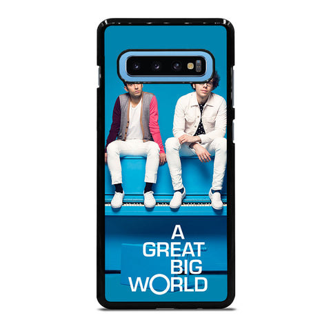 A GREAT BIG WORLD Samsung Galaxy S10 Plus Case - Best Custom Phone Cover Cool Personalized Design