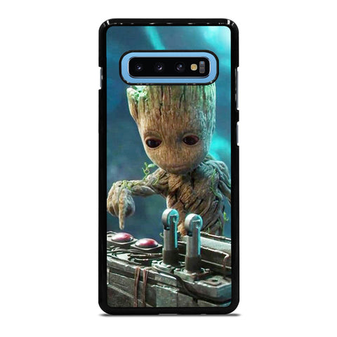 BABY GROOT GUARDIAN OF THE GALAXY Samsung Galaxy S10 Plus Case - Best Custom Phone Cover Cool Personalized Design