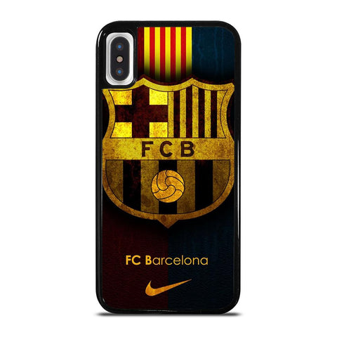 BARCELONA FC LOGO-iphone-x-case-cover