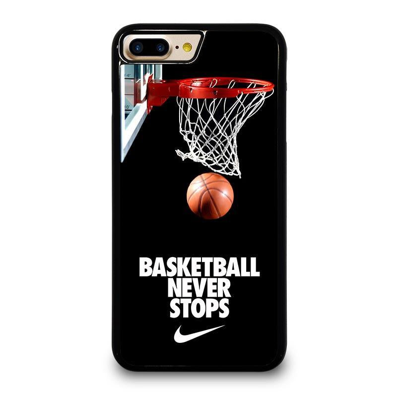 premium selection ba9e1 04798 BASKETBALL NEVER STOPS iPhone 7 Plus Case Cover - Favocase