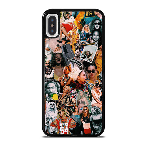 BEYONCE COLLAGE iPhone X / XS Case Cover