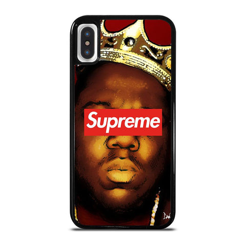 BIGGIE SMALLS NOTORIUOS SUPREME-iphone-x-case-cover