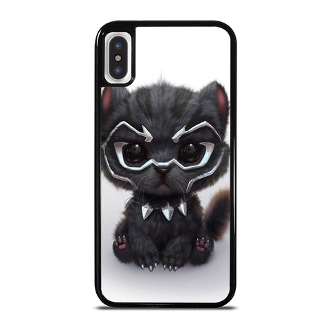 BLACK PANTHER CUTE CAT iPhone X / XS Case - Best Custom Phone Cover Cool Personalized Design