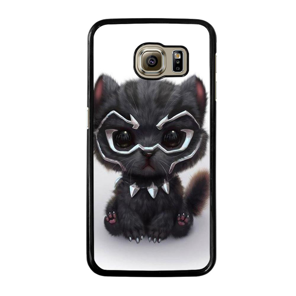 pretty nice c87f2 67b9a BLACK PANTHER CUTE CAT Samsung Galaxy S6 Case Cover - Favocase