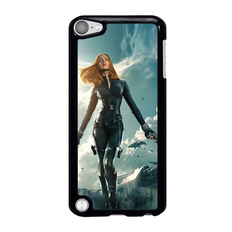 new products c4a62 55ea0 BLACK WIDOW MARVEL AVENGERS iPod Touch 5 Case Cover - Favocase