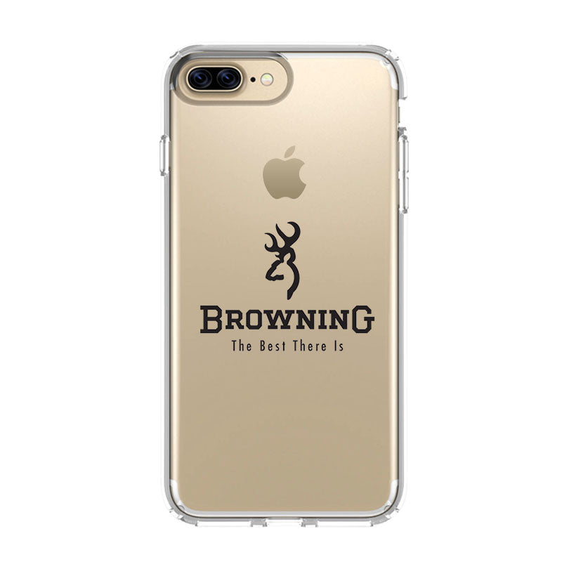 more photos bec5c 32930 BROWNING FISHING LOGO iPhone 5/5S/SE 6/6S 7 8 Plus X/XS Max XR Clear Case -  Favocase