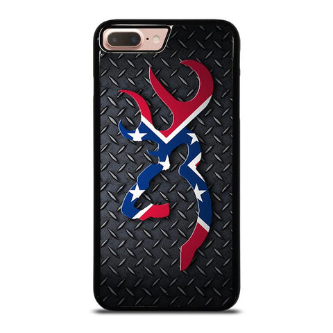 BROWNING REBEL FLAG METAL-iphone-8-plus-case-cover