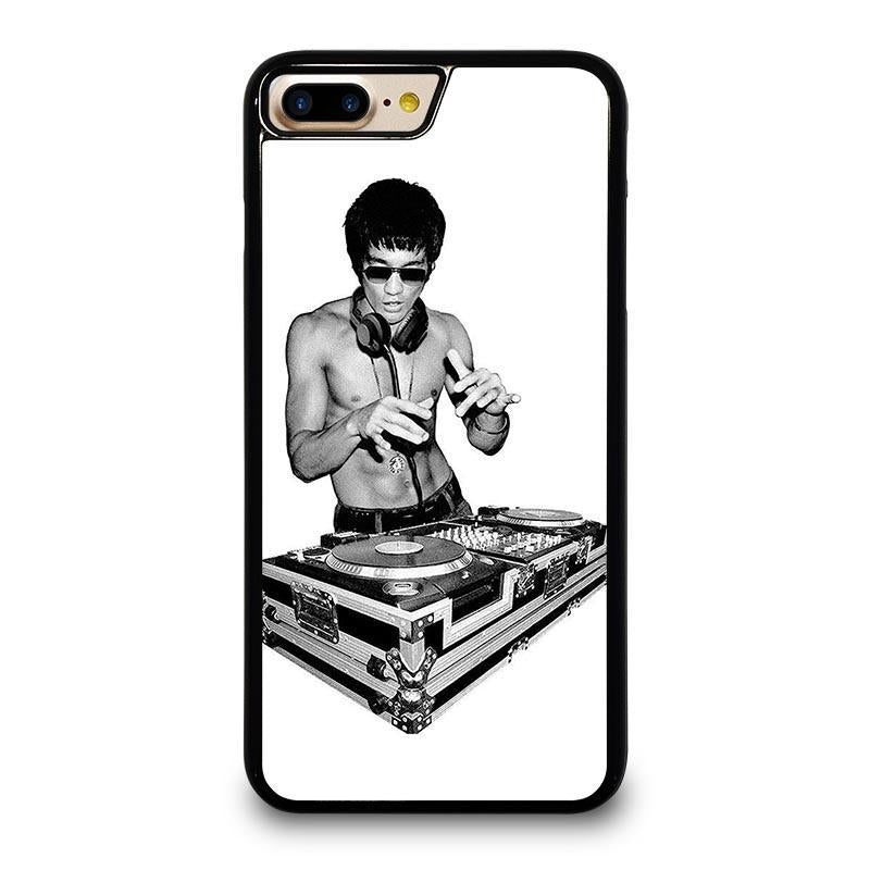 super cute best quality for yet not vulgar BRUCE LEE DJ DISK JOCKEY iPhone 7 Plus Case Cover - Favocase