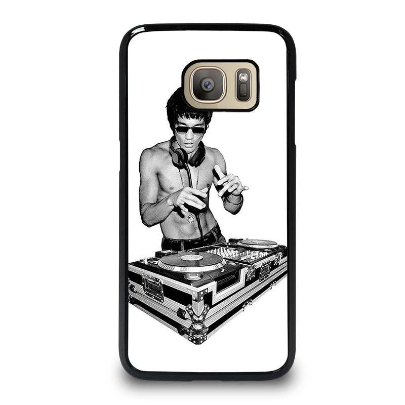 2019 discount sale thoughts on to buy BRUCE LEE DJ DISK JOCKEY Samsung Galaxy S7 Case Cover - Favocase