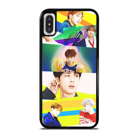 BTS BANGTAN BOYS DNA iPhone X / XS Case - Best Custom Phone Cover Cool Personalized Design