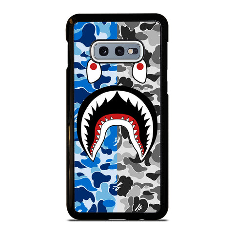 CAMO BAPE SHARK-samsung-galaxy-S10e-case-cover