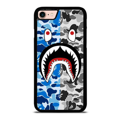 CAMO BAPE SHARK-iphone-8-case-cover