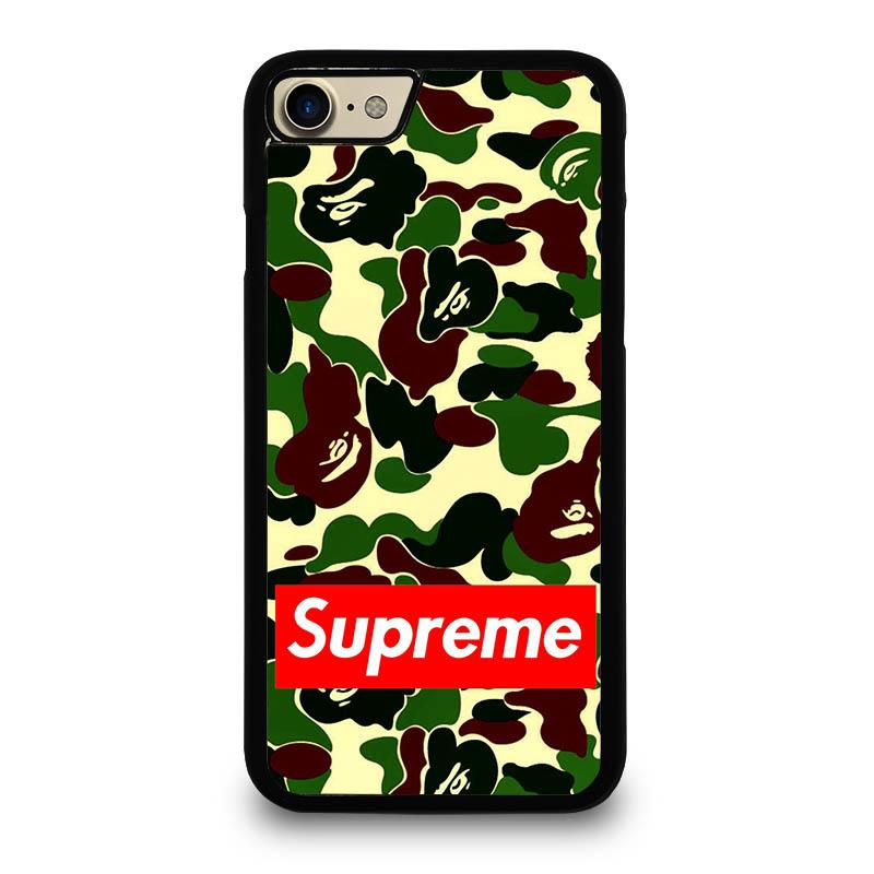 buy online a7ade 19a25 CAMO BAPE SUPREME iPhone 7 Case Cover - Favocase