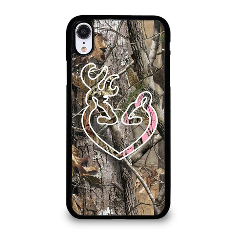 CAMO BROWNING LOVE-iphone-xr-case-cover