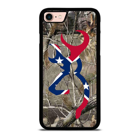 CAMO BROWNING REBEL FLAG-iphone-8-case-cover