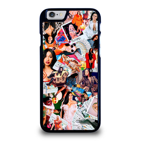 CARDI B COLLAGE-iphone-6-6s-case-cover
