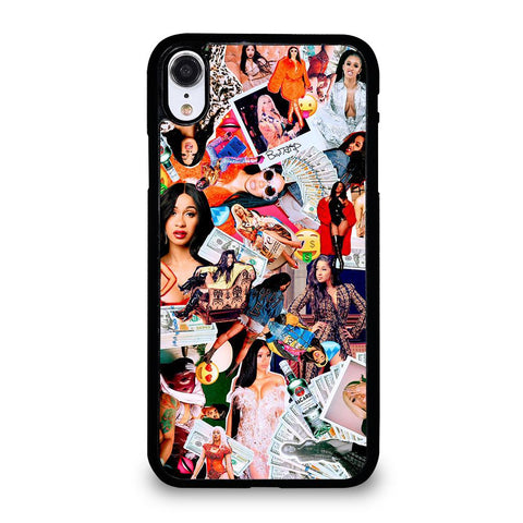 CARDI B COLLAGE-iphone-xr-case-cover