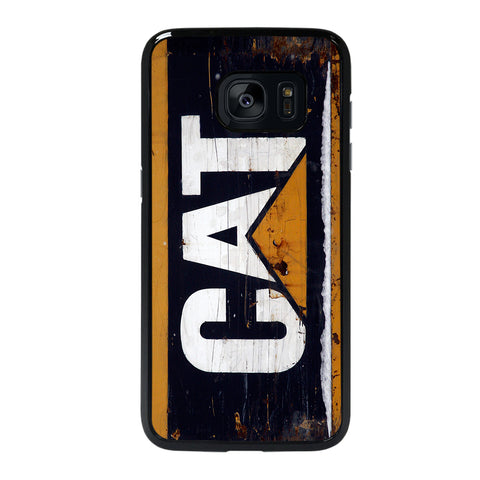 CATERPILLAR CAT RETRO LOGO-samsung-galaxy-#REF!-edge-case-cover