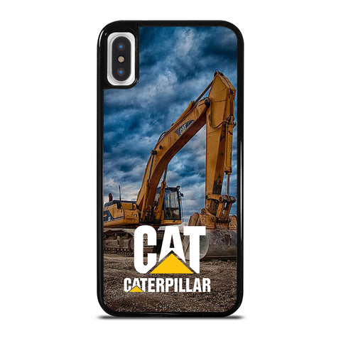 CAT CATERPILLAR EXCAVATOR-iphone-x-case-cover
