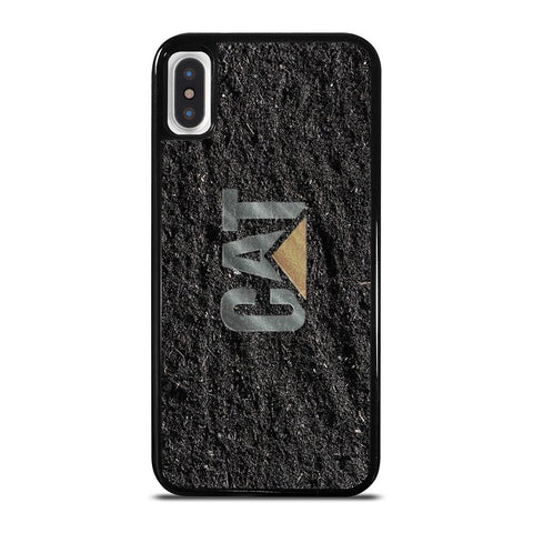 CAT CATERPILLAR LOGO-iphone-x-case-cover