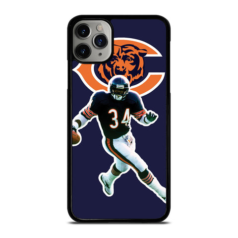 CHICAGO BEARS WALTER PAYTON-iphone-11-pro-max-case-cover