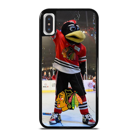 CHICAGO BLACKHAWKS MASCOT-iphone-x-case-cover
