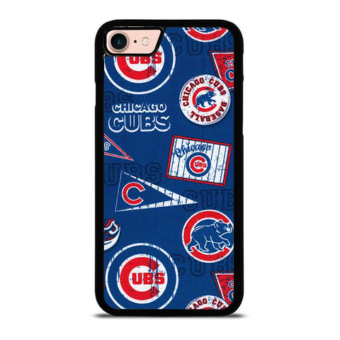 CHICAGO-CUBS-COLLAGE-iphone-8-case-cover