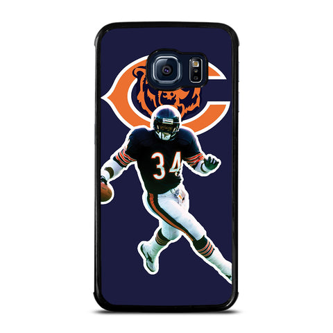 CHICAGO BEARS WALTER PAYTON Samsung Galaxy S6 Edge Case Cover