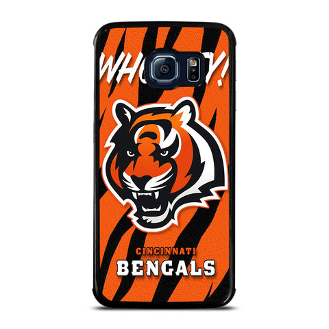 CINCINNATI BENGALS LOGO Samsung Galaxy S6 Edge Case Cover