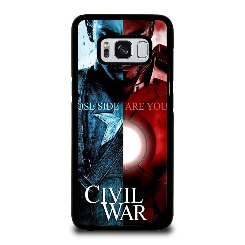 the best attitude fb4ff e82b3 CIVIL WAR 2 Marvel Avengers Samsung Galaxy S8 Case Cover - Favocase