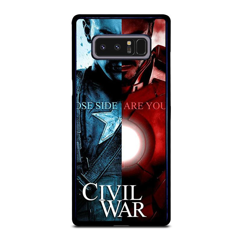 best service 85670 f606d CIVIL WAR 2 Marvel Avengers Samsung Galaxy Note 8 Case Cover - Favocase