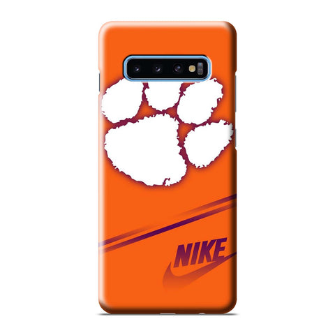 CLEMSON TIGERS Samsung Galaxy S6 S7 S8 S9 S10 S10e Edge Plus Note 8 9 10 10+ 3D Case Cover