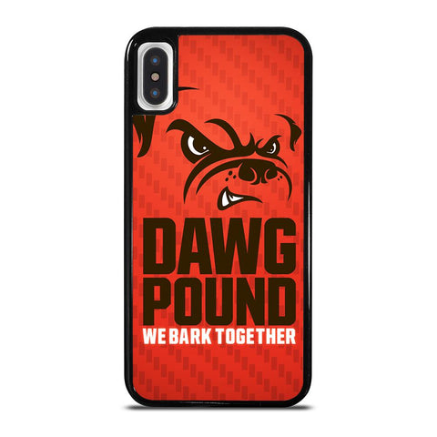 CLEVELAND BROWNS DAWG POUND-iphone-x-case-cover