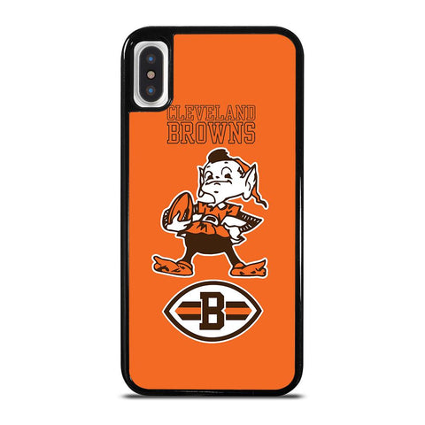 CLEVELAND BROWNS LOGO-iphone-x-case-cover