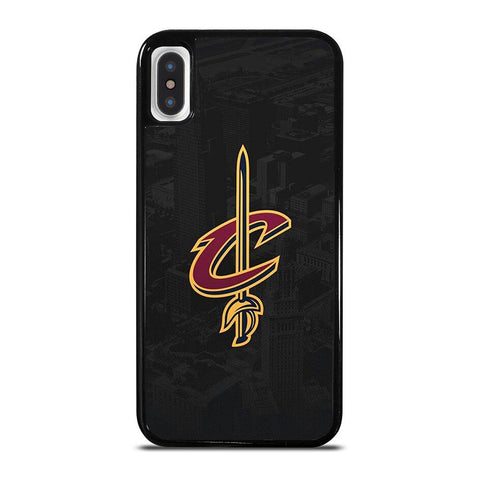CLEVELAND CAVALIERS BASEBALL-iphone-x-case-cover
