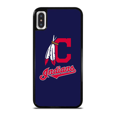 CLEVELAND INDIANS ICON-iphone-x-case-cover