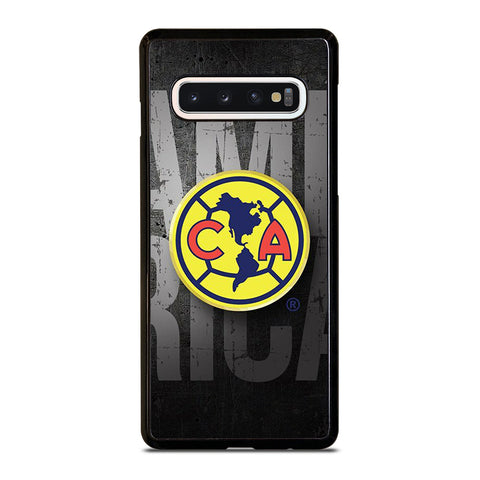 CLUB AMERICA LOGO 2-samsung-galaxy-s10-case-cover