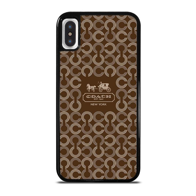 dfcde296 COACH NEW YORK 1941 iPhone X / XS Case Cover - Favocase