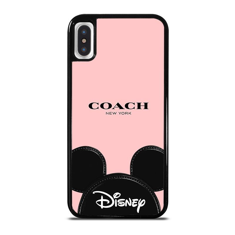 super popular 97632 40c77 COACH NEW YORK DISNEY iPhone X / XS Case Cover - Favocase