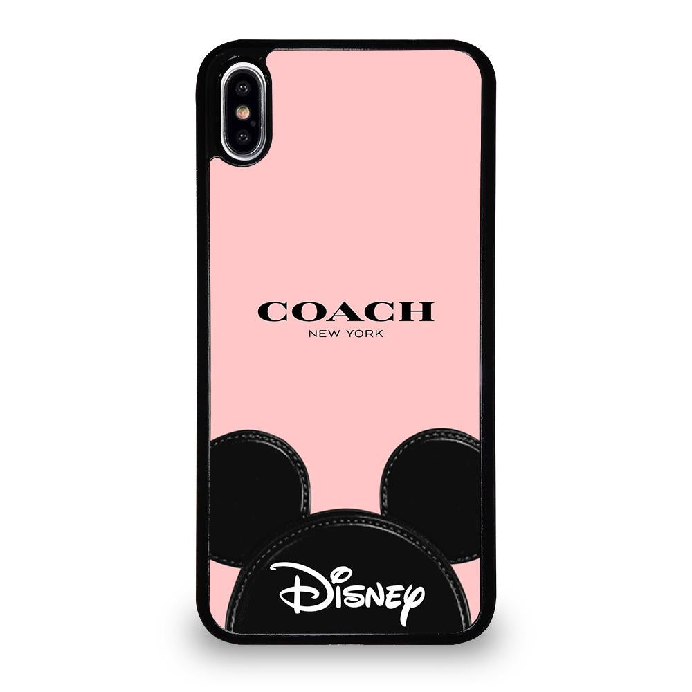 size 40 83f1d 506bc COACH NEW YORK DISNEY iPhone XS Max Case Cover - Favocase
