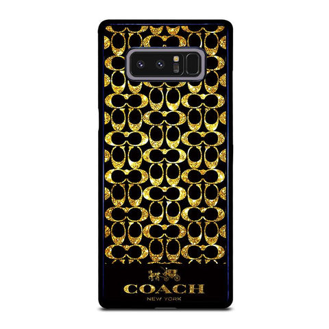 COACH-NEW-YORK-GOLD-samsung-galaxy-note-8-case-cover