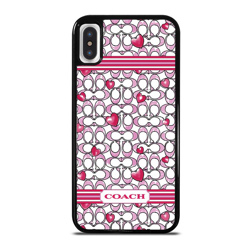 b92bd6b6 COACH NEW YORK LOVE iPhone X / XS Case Cover - Favocase